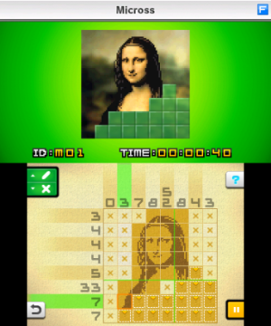 Picross e2 screenshot