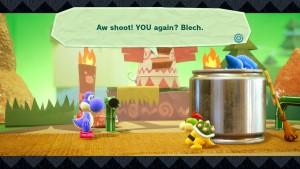 Yoshi's Crafted World screenshot