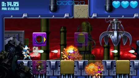 Mighty Switch Force! Hyper Drive Edition screenshot