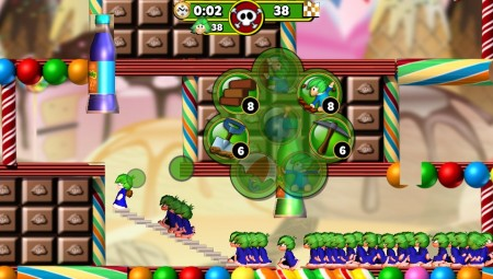 Lemmings Touch screenshot