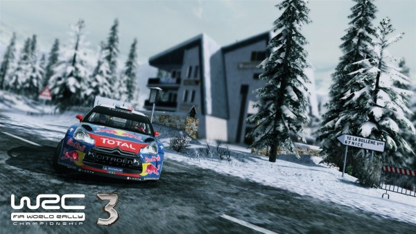 WRC: FIA World Rally Championship 3 screenshot