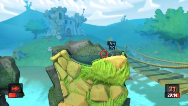 Worms Revolution screenshot