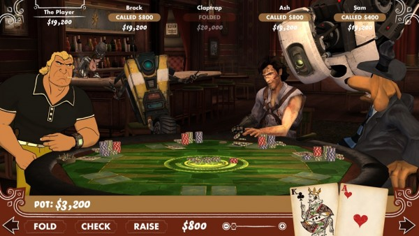 Telltale Games' Poker Night 2 screenshot