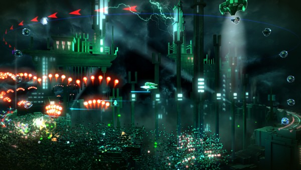 Resogun screenshot