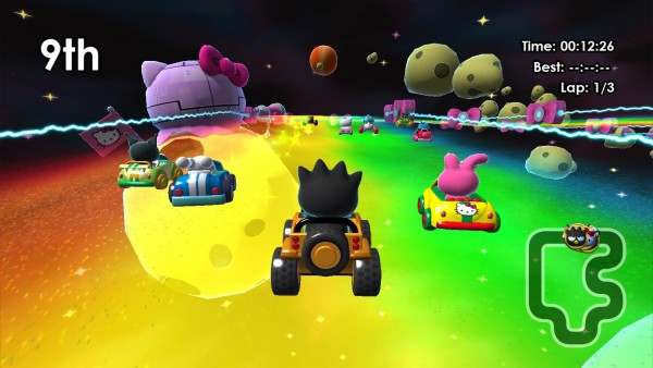 Hello Kitty Kruisers screenshot