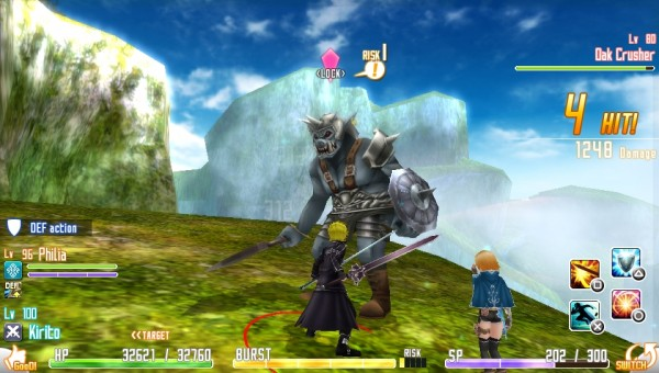 Sword Art Online: Hollow Fragment screenshot