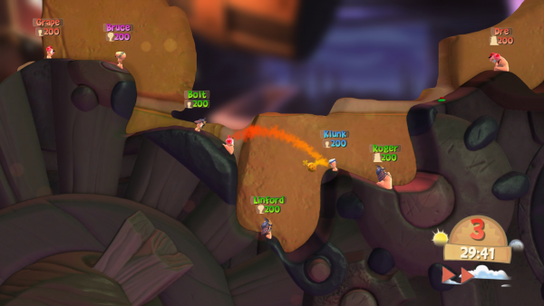 Worms Battlegrounds screenshot