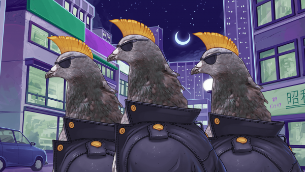 Hatoful Boyfriend screenshot