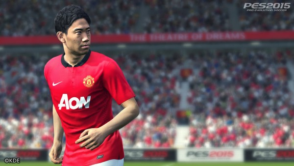 Pro Evolution Soccer 2015 screenshot