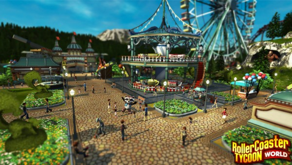 Rollercoaster Tycoon World screenshot
