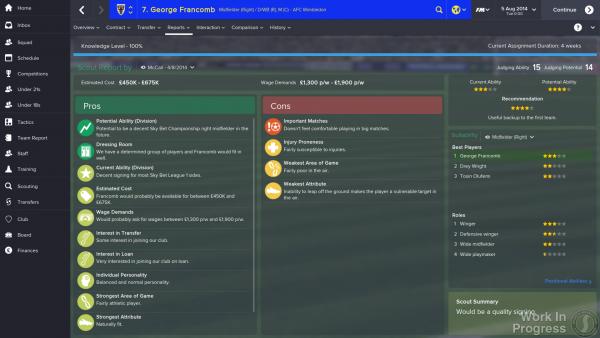 Football Manager 2015 screenshot