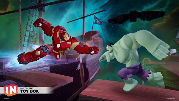 Disney Infinity 2.0: Marvel Super Heroes screenshot