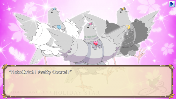 Hatoful Boyfriend: Holiday Star screenshot
