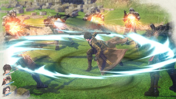 Valkyria: Azure Revolution screenshot