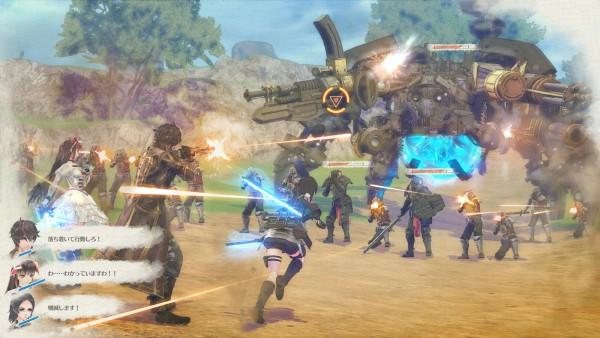 Valkyria: Azure Revolution screenshot