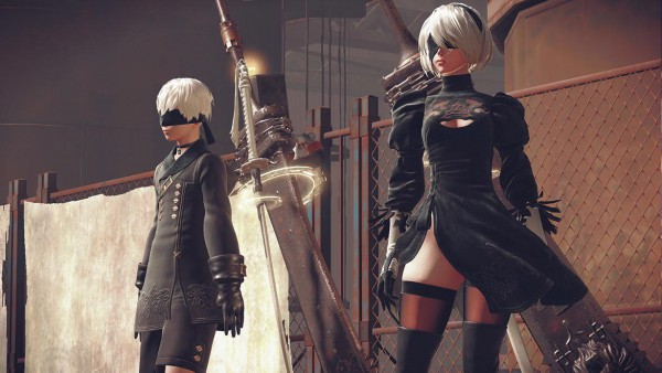 NieR Automata screenshot