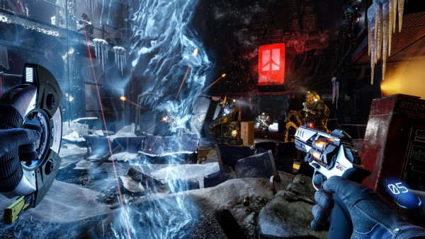 Arktika.1 screenshot