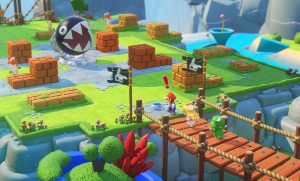 Mario + Rabbids: Kingdom Battle screenshot