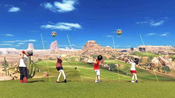 Everybody's Golf (PS4) screenshot