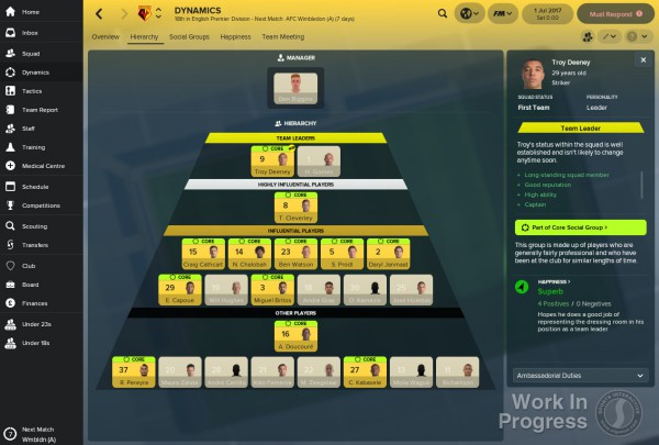 Football Manager 2018 screenshot