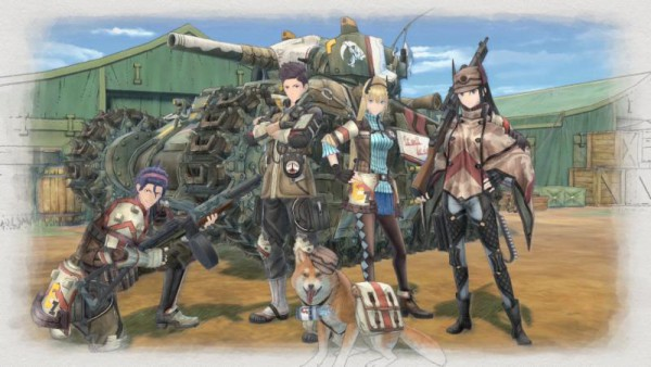 Valkyria Chronicles 4 screenshot