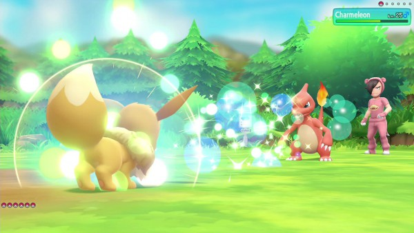 Pokémon let's Go, Pikachu! screenshot