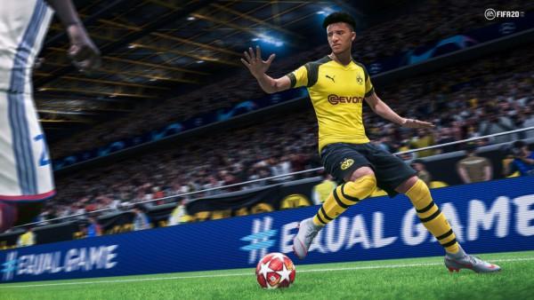 FIFA 20 screenshot