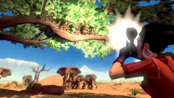 Jack Keane 2: The Fire Within screenshot