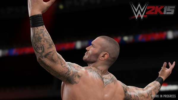 WWE 2K15 screenshot