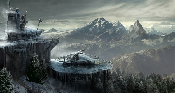 Rise Of The Tomb Raider Laat Concept Art Vallen