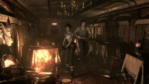 Resident Evil Zero HD Remaster screenshot