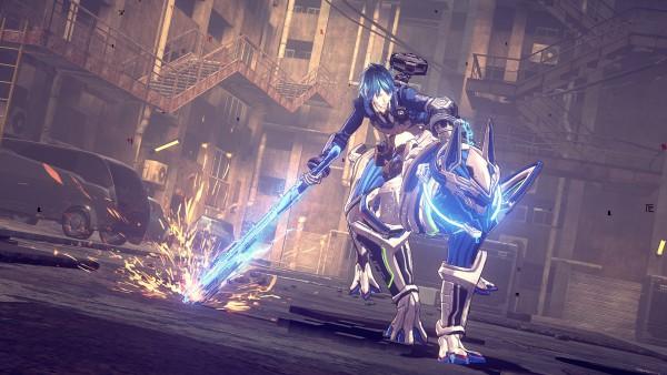 Astral Chain screenshot
